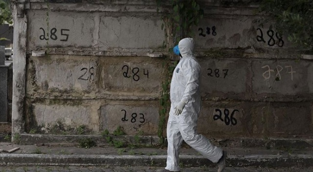 Brezilya'da koronavirüsten can kaybı 28 bin 834'e yükseldi
