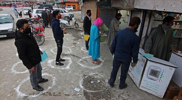 Cammu Keşmir'de koronavirüs vakalarında rekor artış