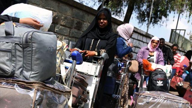 Covid-19 salgını sırasında 12 bin düzensiz göçmen Etiyopya'ya geri döndü
