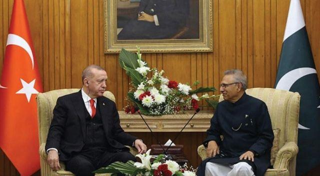 Cumhurbaşkanı Erdoğan, Pakistan Cumhurbaşkanı Arif Alvi ile telefonda görüştü