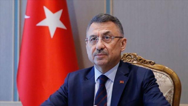 Cumhurbaşkanı Yardımcısı Oktay'dan şehit polis memuru için başsağlığı mesajı