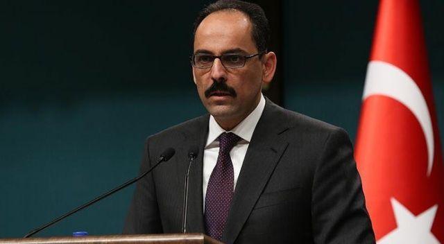 Cumhurbaşkanlığı Sözcüsü Kalın: Tüm Libya için geçerli olacak siyasi çözümün olması gerekir