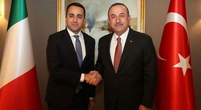 Dışişleri Bakanı Çavuşoğlu, İtalyan mevkidaşı Di Maio ile görüştü