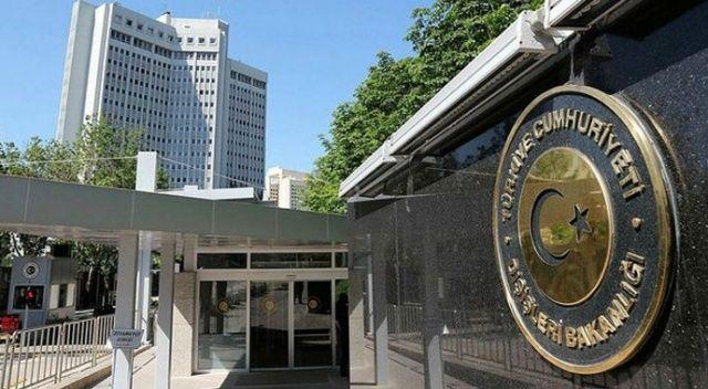 Dışişleri Bakanlığı'ndan ABD'nin ASA kararına ilişkin açıklama