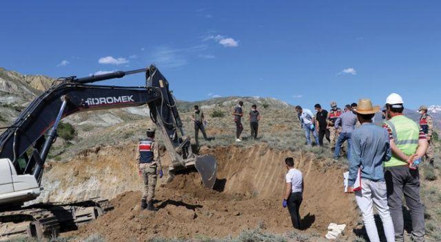 İnşaat kazısında savaş döneminden kaldığı tahmin edilen kemikler bulundu