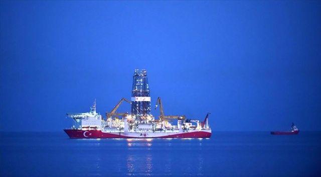 Fatih sondaj gemisi Karadeniz geçişine hazır