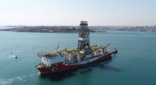 Fatih Sondaj Gemisi'nin yarın Trabzon'da olması bekleniyor