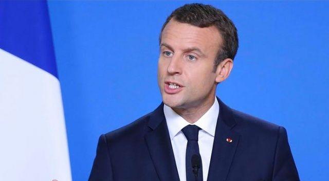 Fransa Cumhurbaşkanı Macron otomotiv sektörünü kurtarma planını açıkladı
