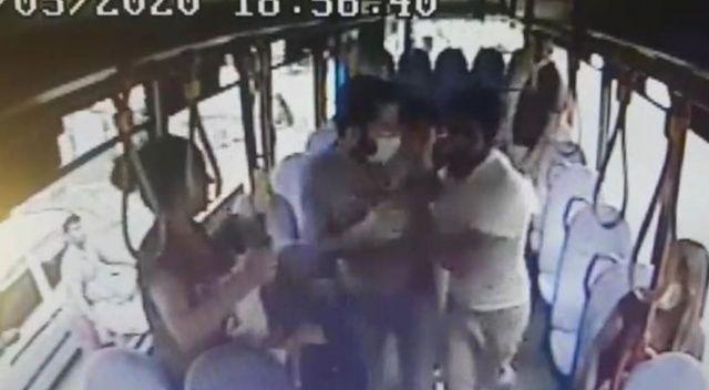 Halk otobüsünde hırsızlık yaptı, şoför kapıları kapatınca kaçamadı