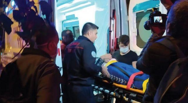 Havalandırma boşluğuna düşen kişi kurtarıldı