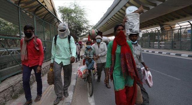 Hindistan'da Kovid-19 vaka sayısında 'en fazla günlük artış' kaydedildi