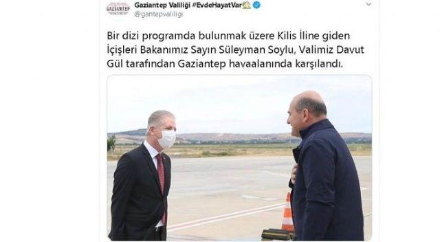 İçişleri Bakanı Soylu Suriye sınırında