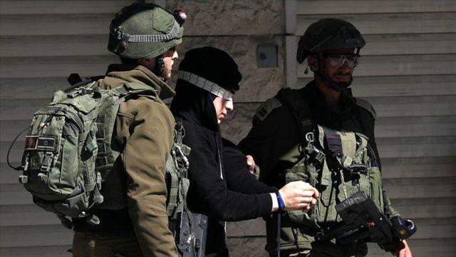 İsrail polisi, 11 Filistinli göstericiyi gözaltına aldı