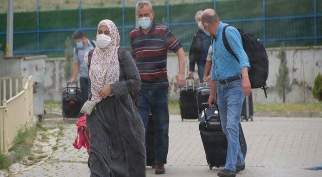 Karantina yurtlarından erken tahliyeler başladı