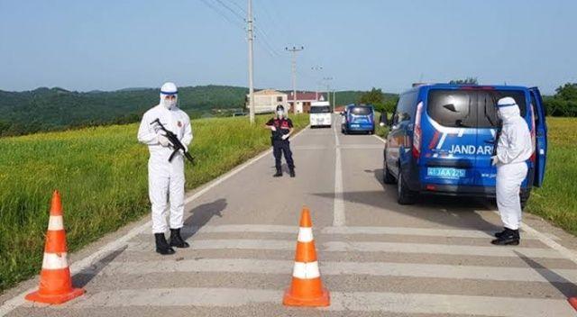 Karantinaya alınan mahallede 10 kişi korona virüsü yendi