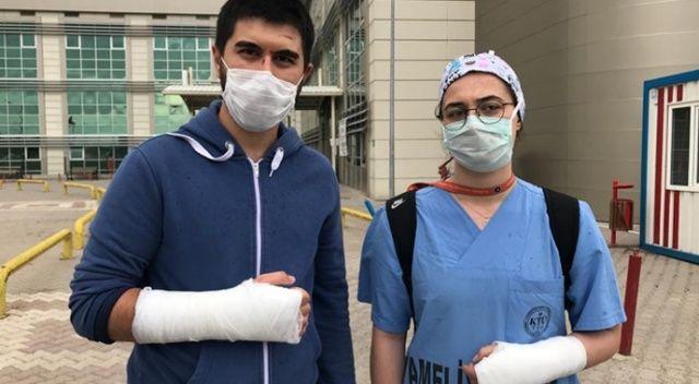 Kırıkkale'de iki doktor tekme-tokat darp edildi
