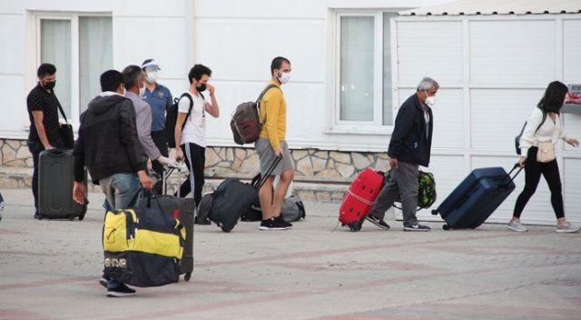 KKTC'den gelen 288 kişi, Karaman'da karantinaya alındı