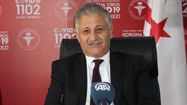 KKTC Sağlık Bakanı Pilli'den 'Bayramda sosyal mesafeyi koruyun' uyarısı