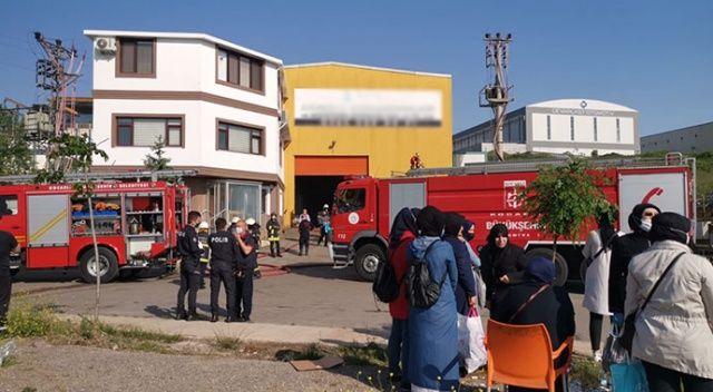 Kocaeli'de fabrikada kazan patladı! Yaralılar var