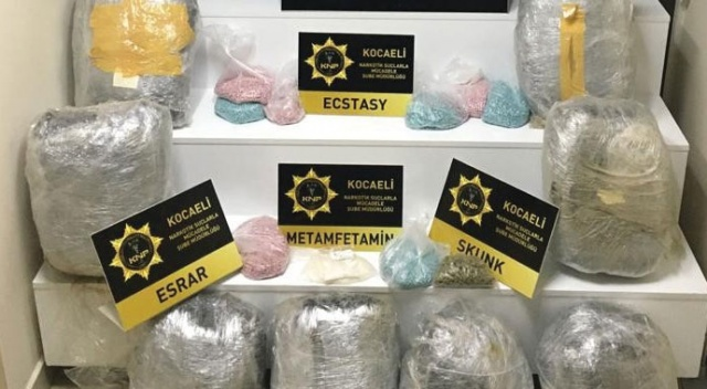 Kocaeli'de uyuşturucu ile yakalanan 6 kişi tutuklandı