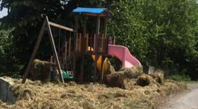 Köyde park var, oynayacak çocuk yok