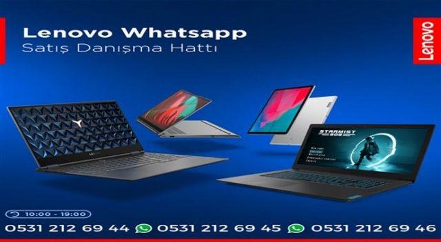 Lenovo WhatsApp hattı kurdu