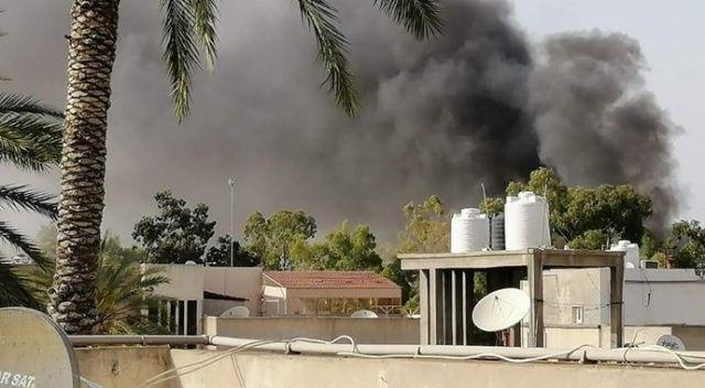 Libya'da sığınmacıların bulunduğu binaya füze saldırısı: 2 ölü, 2 yaralı