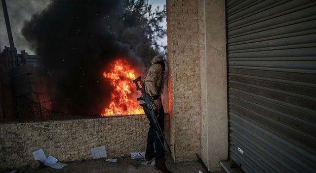 Libya ordusundan Sirte yakınlarında Hafter milislerine hava operasyonu