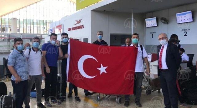 Madagaskar'daki Türkler yurda dönmek üzere yola çıktı