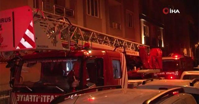 Maltepe'deki korkutan yangında şoke eden iddia