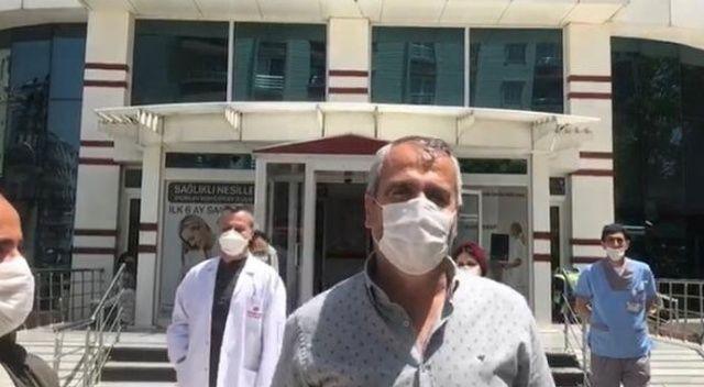 Mardin'deki pandemi hastanesi son koronavirüs hastasını taburcu etti
