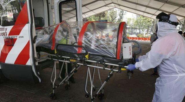 Meksika'da son 24 saatte 447 ölü