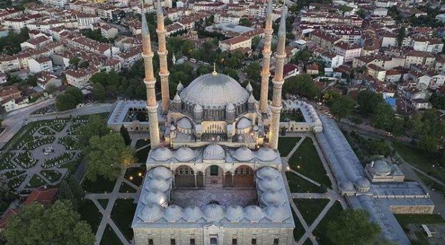 Mimar Sinan'ın 'ustalık eseri' Selimiye'de koronavirüs sakinliği