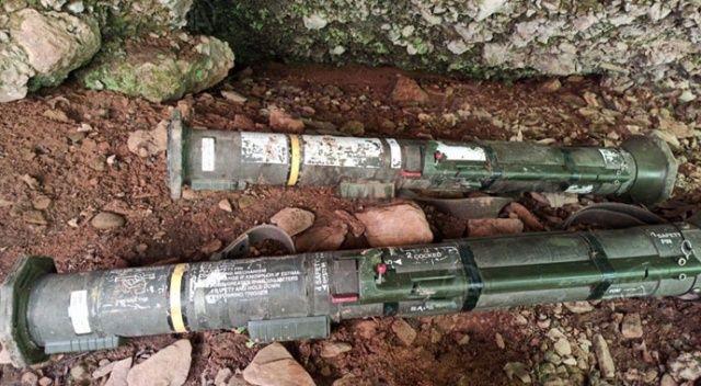 MSB: Hakkari'de kullanıma hazır 2 TAS füzesi imha edildi
