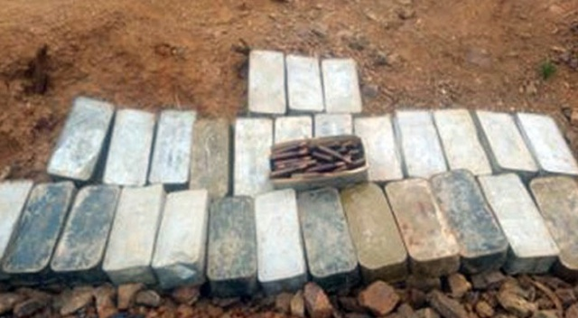MSB: PKK'ya ait 30 kutu Doçka Uçaksavar silahına ait mühimmat ele geçirdi