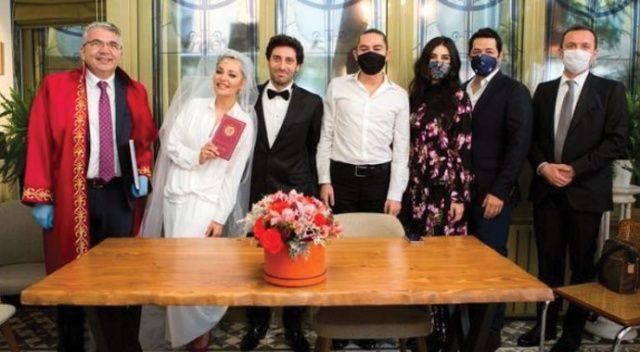 Oyuncu Didem Balçın, avukat nişanlısı ile sessiz sedasız dünyaevine girdi