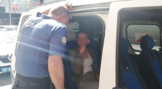 Polisten kaçan çift, motosiklet arızalanınca yakalandı