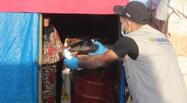 Sadakataşı Ramazan'da Suriye'yi unutmadı