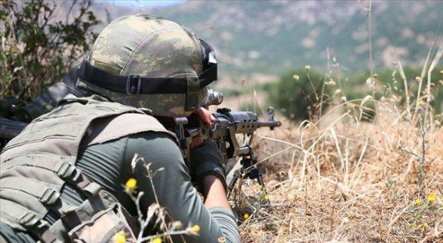 Siirt kırsalında 2 terörist öldürüldü