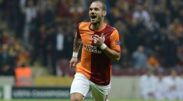 Sneijder, Galatasaray yolunda