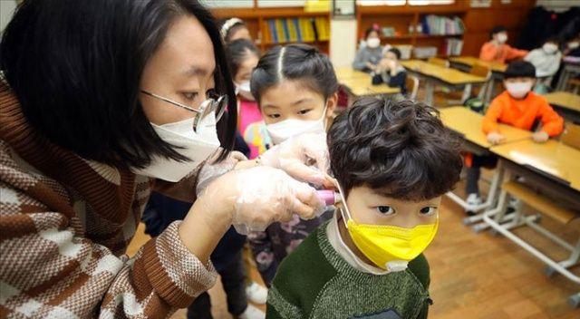Son bir günde Çin'de 4, Güney Kore'de 20 yeni Kovid-19 vakası tespit edildi