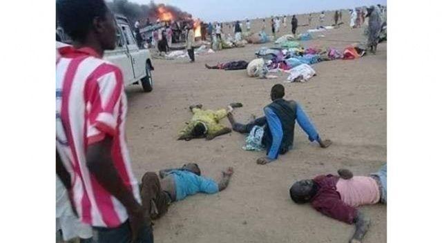 Sudan'da feci kaza: 43 ölü, 31 yaralı