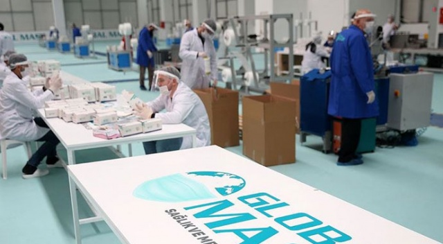 Türk şirket ayda 1,5 milyar adet cerrahi maske üretecek