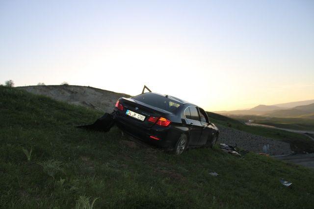 Varto'da trafik kazası: 1 ölü, 1 yaralı