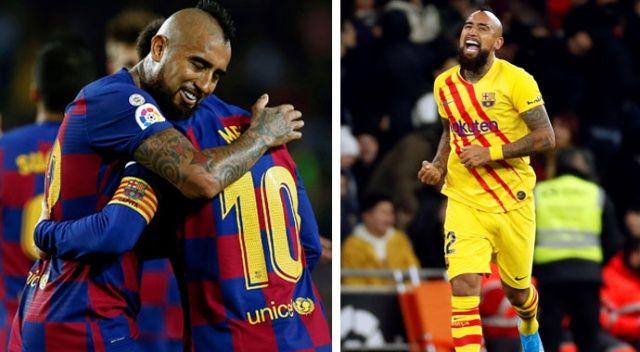 Vidal: Barcelona'da mutluyum
