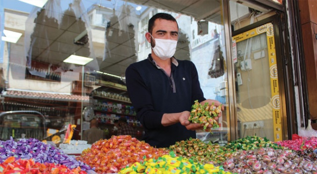 Virüs çıktı bayram şekerleri tezgahta kaldı