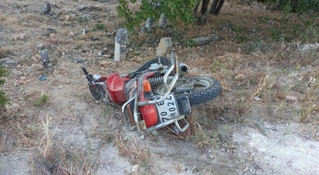 Yürüyüş yapan kadınlara motosiklet çarptı: 4 yaralı
