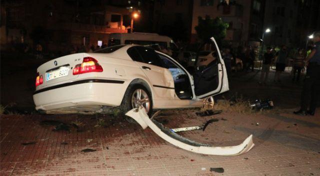 Adana'da otomobiller çarpıştı: 7 yaralı