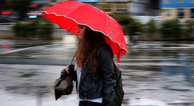 AKOM'dan kuvvetli yağış uyarısı