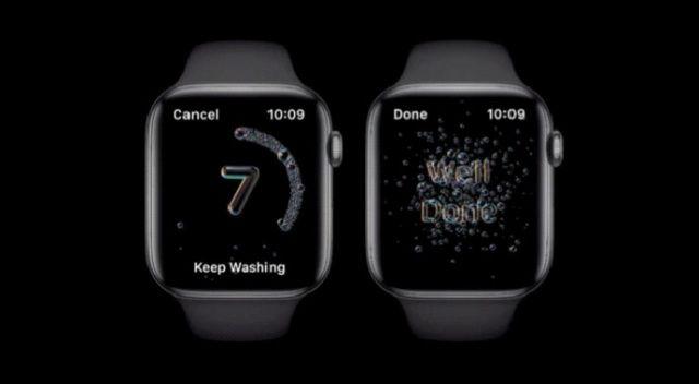 Apple Watch'tan Elini yıkayana 'Aferin'